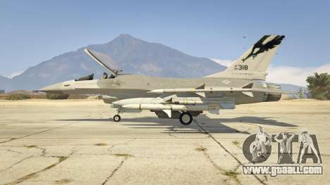 GTA 5 F-16C Fighting Falcon second screenshot