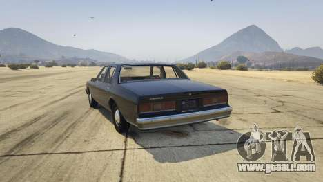 GTA 5 Chevrolet Impala 1985 rear left side view