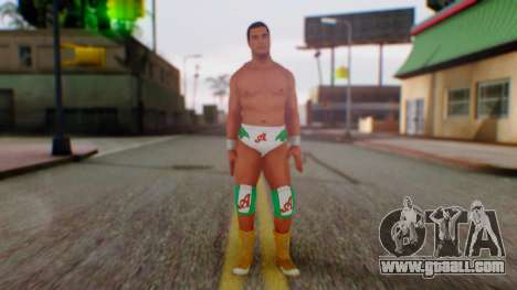 WWE Alberto for GTA San Andreas second screenshot