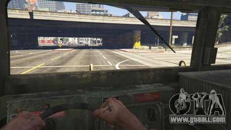 M1116 Humvee Up-Armored 1.1 for GTA 5