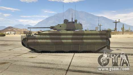 GTA 5 FV510 Warrior left side view