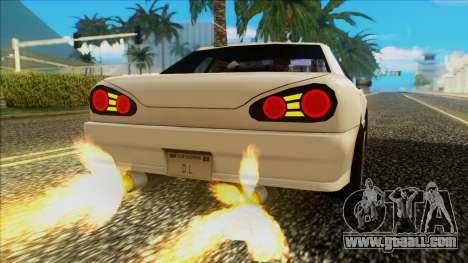 Elegy HellCat for GTA San Andreas right view