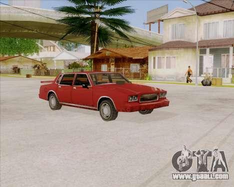 TahomaNew v1.0 for GTA San Andreas