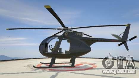 Hughes OH-6 Cayuse for GTA 5