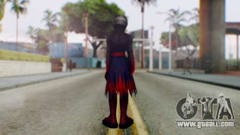 KHBBS - Vanitas Armor for GTA San Andreas third screenshot