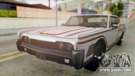 GTA 5 Vapid Chino Tunable IVF for GTA San Andreas wheels