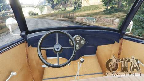 GTA 5 Ford Model T 1927 [Tin Lizzie] rear right side view