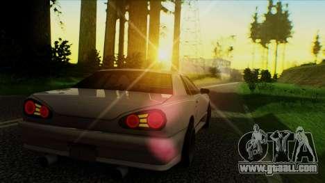 Elegy HellCat for GTA San Andreas left view