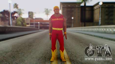 WWE Hulk Hogan for GTA San Andreas second screenshot