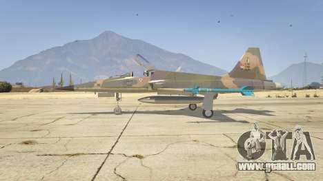 GTA 5 Northrop F-5E Tiger II FAB second screenshot