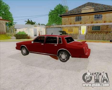 TahomaNew v1.0 for GTA San Andreas left view