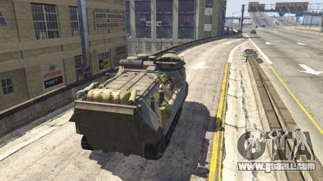 GTA 5 AAV-7A1 AMTRAC back view
