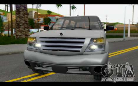 GTA 5 Albany Cavalcade IVF for GTA San Andreas inner view