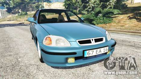 Honda Civic 1997 for GTA 5