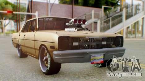 Dodge Dart 1975 Estilo Drag for GTA San Andreas