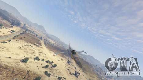 GTA 5 Northrop F-5E Tiger II FAB eighth screenshot