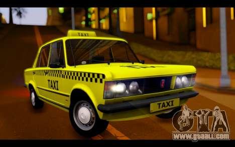 Zastava 125PZ Taxi for GTA San Andreas