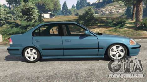 GTA 5 Honda Civic 1997 left side view
