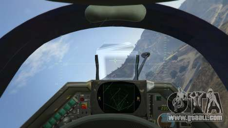 GTA 5 Dassault Mirage 2000-C FAB fourth screenshot
