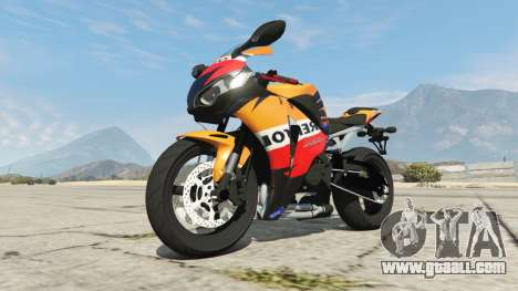 GTA 5 Honda CBR1000RR [Repsol] right side view