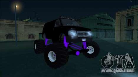 GTA 5 Vapid Speedo Monster Truck for GTA San Andreas inner view