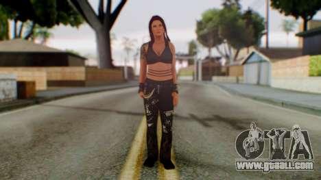 WWE Lita for GTA San Andreas second screenshot