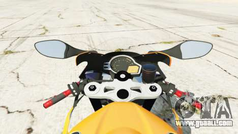 GTA 5 Honda CBR1000RR [Repsol] rear right side view
