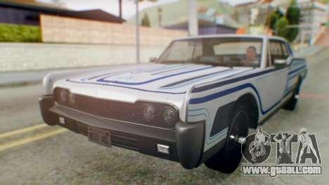 GTA 5 Vapid Chino Tunable IVF for GTA San Andreas interior