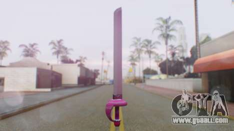 Rose Sword from Steven Universe for GTA San Andreas