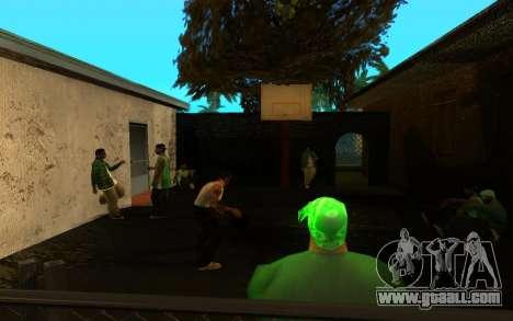 The revival of the street ganton for GTA San Andreas sixth screenshot