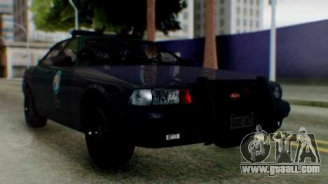GTA 5 Vapid Stanier II Police IVF for GTA San Andreas