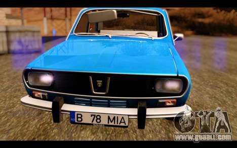 Dacia 1300 1969 for GTA San Andreas back view