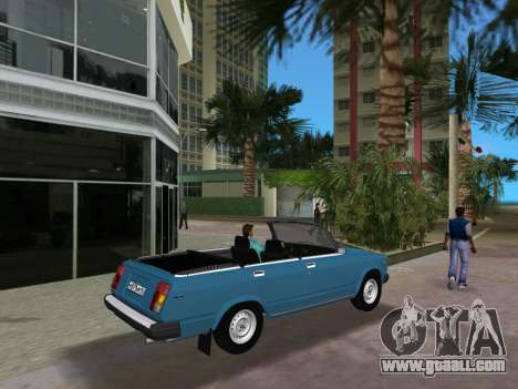 VAZ 21047 Convertible for GTA Vice City right view