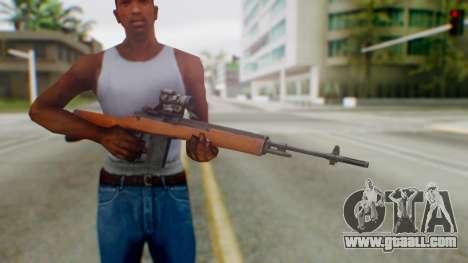 Arma2 M14 Sniper for GTA San Andreas third screenshot