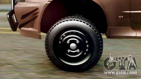 Nissan Skyline GT-R R34 RAID Spec for GTA San Andreas back left view