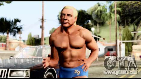 WWE Ric Flair for GTA San Andreas