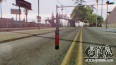 GTA 5 Bodyguard Switchblade for GTA San Andreas