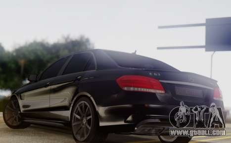 Mercedes-Benz E63 AMG PML Edition for GTA San Andreas back left view