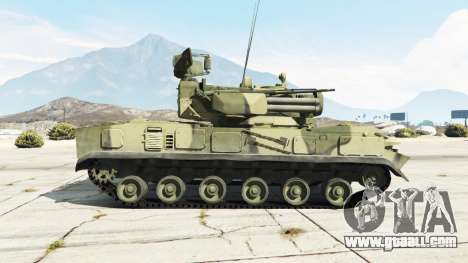 2К22 Tunguska for GTA 5