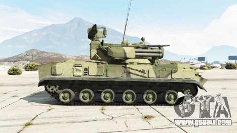 2К22 Tunguska for GTA 5