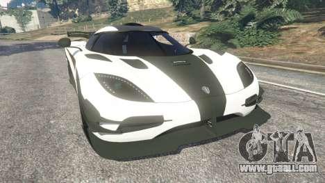 Koenigsegg One1 2014 v1.1 for GTA 5