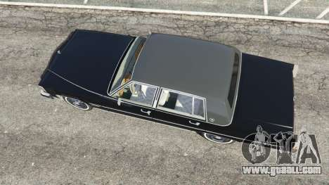 GTA 5 Cadillac Fleetwood Brougham 1985 back view