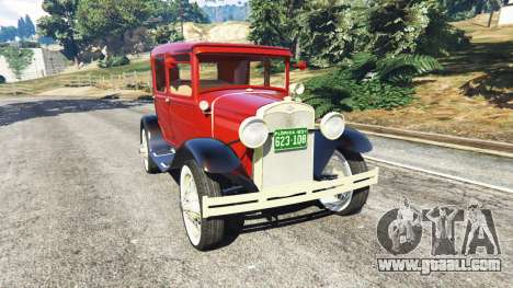Ford Model A [mafia style] for GTA 5
