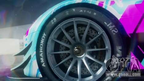 Mercedes-Benz SLS AMG GT3 2015 Hatsune Miku for GTA San Andreas right view