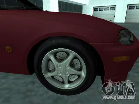 Mazda MX-5 for GTA San Andreas right view