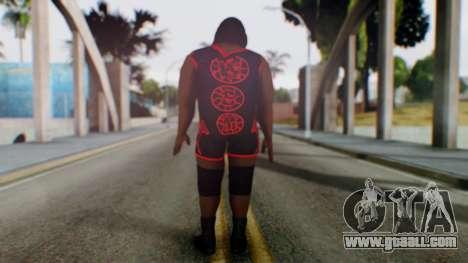 Mark He WWE for GTA San Andreas third screenshot