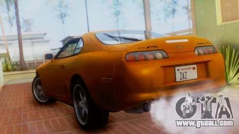 Toyota Supra TRD 1998 for GTA San Andreas left view