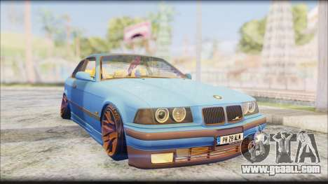 BMW M3 E36 Stanced-Hella for GTA San Andreas