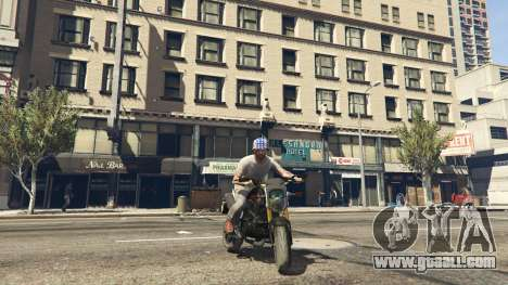 GTA 5 Honda MSX 125 back view