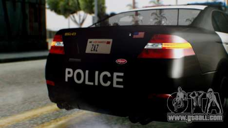 GTA 5 Police LS for GTA San Andreas upper view